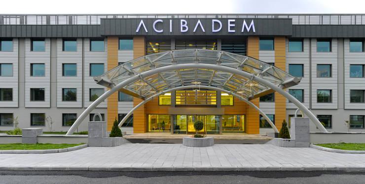 LİNA MİMARLIK – ACIBADEM KAYSERİ HASTANESİ:  tarz Hastaneler