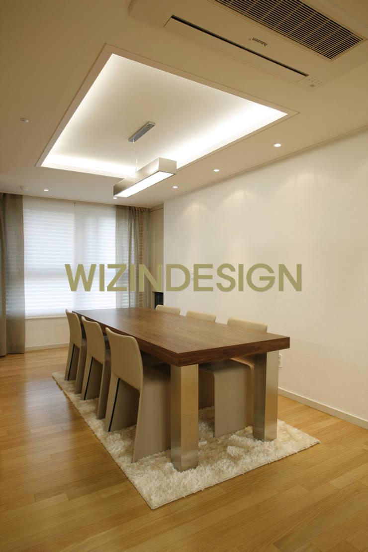 반포 래미안 72평 아파트 : wizingallery의  다이닝 룸