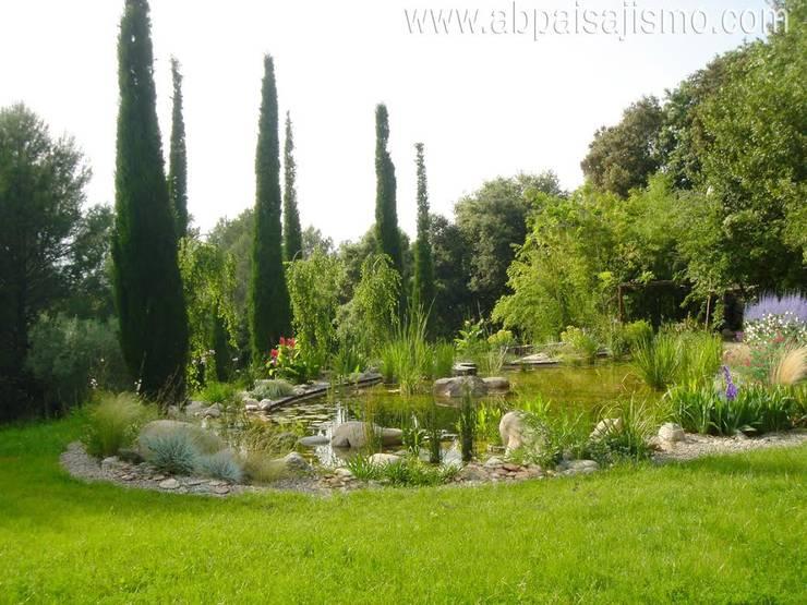 Jardins modernos por abpaisajismo