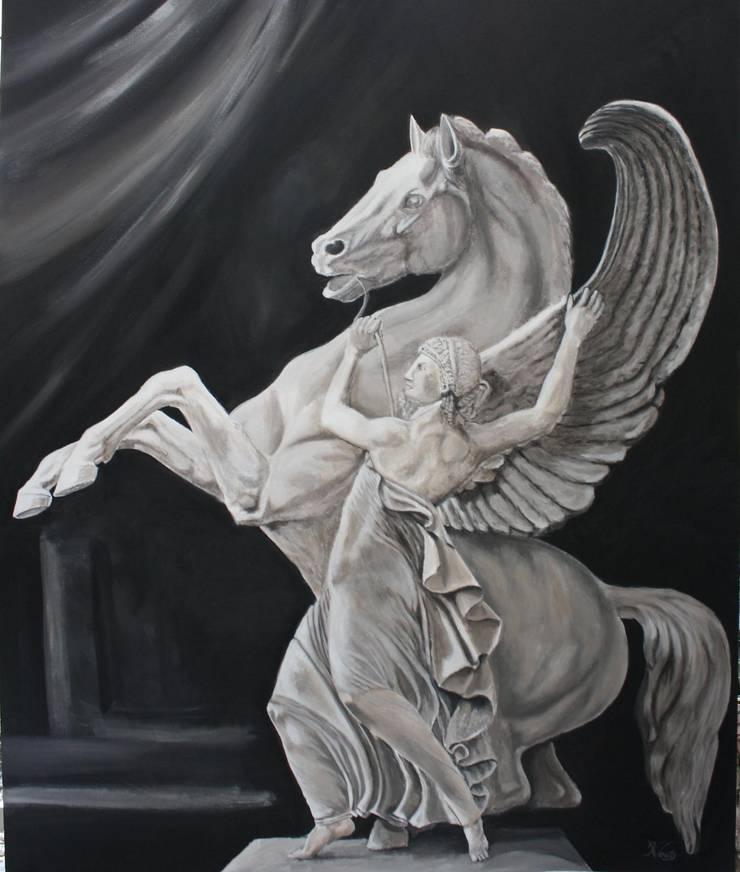 Pegasus:  Kunst  door www.paardenschilderijen.com
