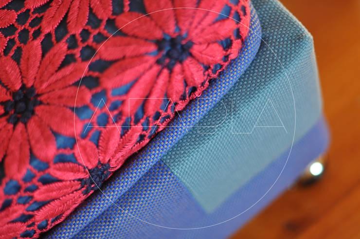 AMARANTKA puf: styl , w kategorii  zaprojektowany przez AFABLA,Nowoczesny