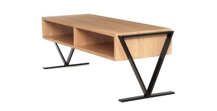 Stolik TV: styl , w kategorii  zaprojektowany przez Atelio,Nowoczesny Drewno O efekcie drewna