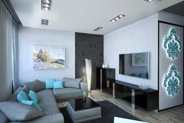 modern Living room by Insight Vision GmbH