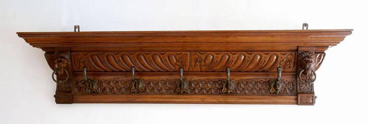Antieke kapstok:  Gang, hal & trappenhuis door Smeerling Antiek & Restauratie