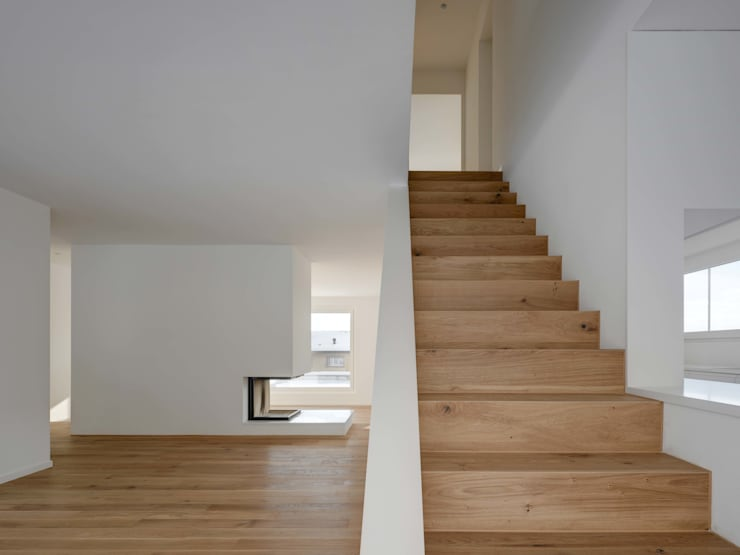 Living room by phalt Architekten AG