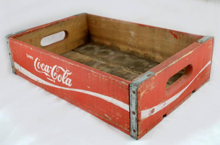 Vintage houten Coca Cola krat:  Keuken door Smeerling Antiek & Restauratie