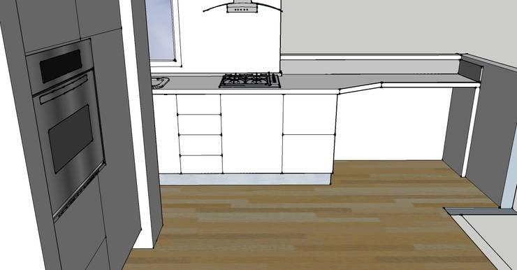 bozza 3D: Cucina in stile  di My Home Attitude - Barbara Sala