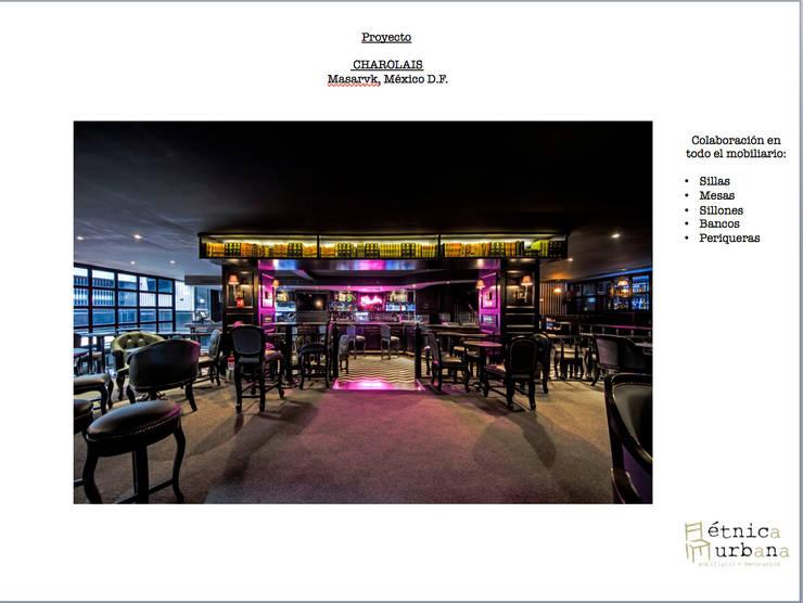 Proyecto Basico Masaryk: Bares y discotecas de estilo  por Etnica Urbana