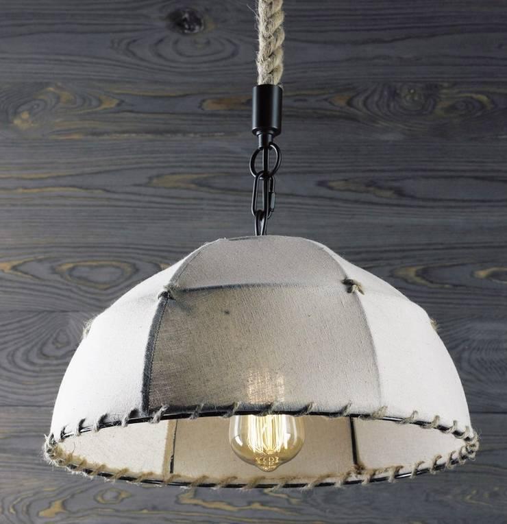 ECO UMBRELLA – LAMPA WISZĄCA: styl , w kategorii Salon zaprojektowany przez Altavola Design Sp. z o.o.