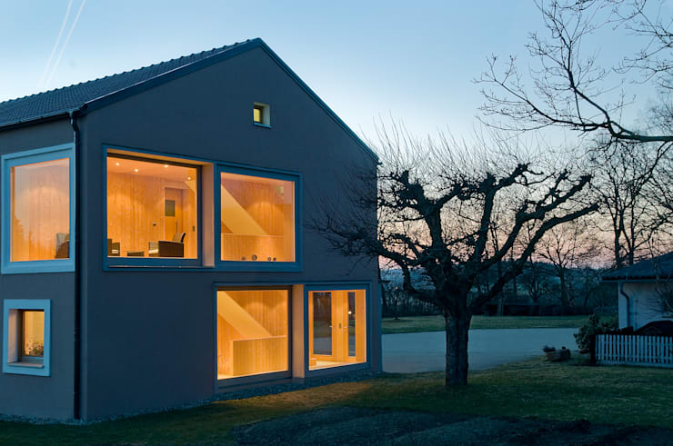 Casas de estilo  por MARKUS GOETZ ARCHITEKTUR