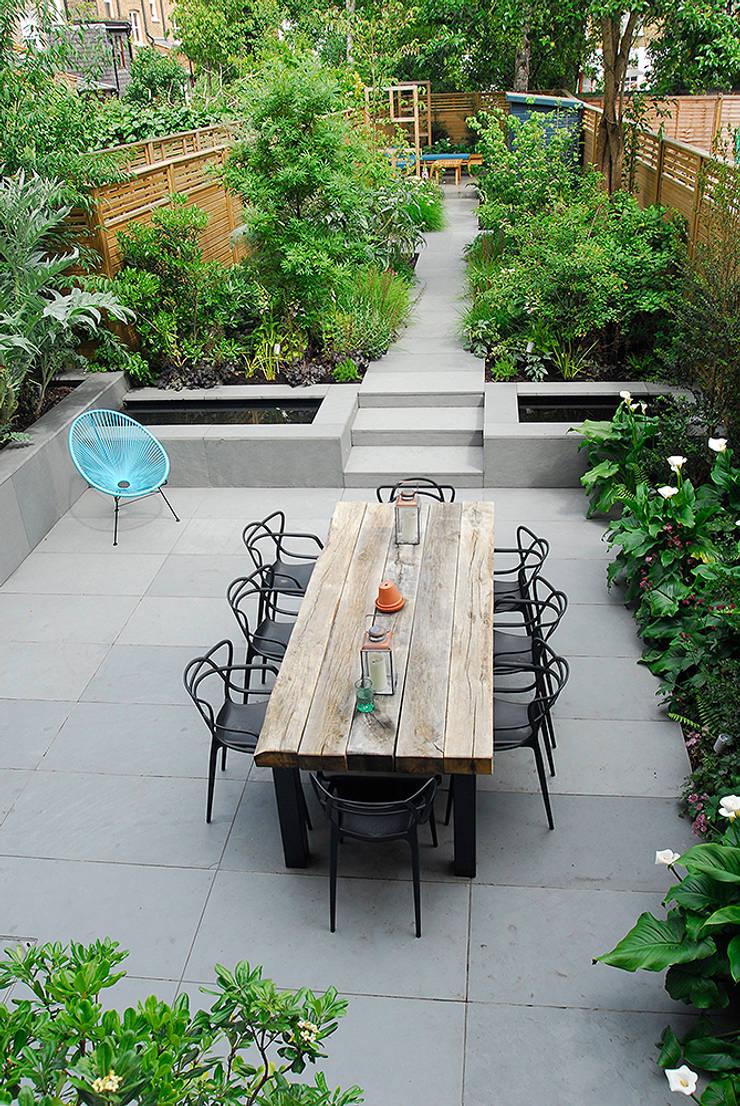 Contemporary Garden Design By London Based Garden Designer