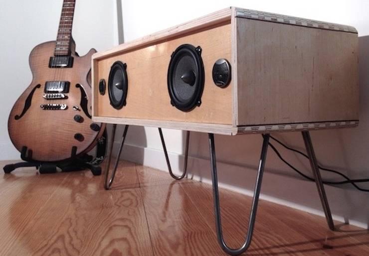 Vue global de la sound box:   por Atelier São Vicente