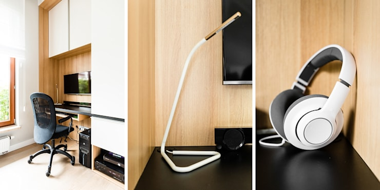 mieszkanie prywatne 3 pokoje – Nowe Orłowo – Gdynia : styl , w kategorii Pokój dziecięcy zaprojektowany przez Anna Maria Sokołowska Architektura Wnętrz ,