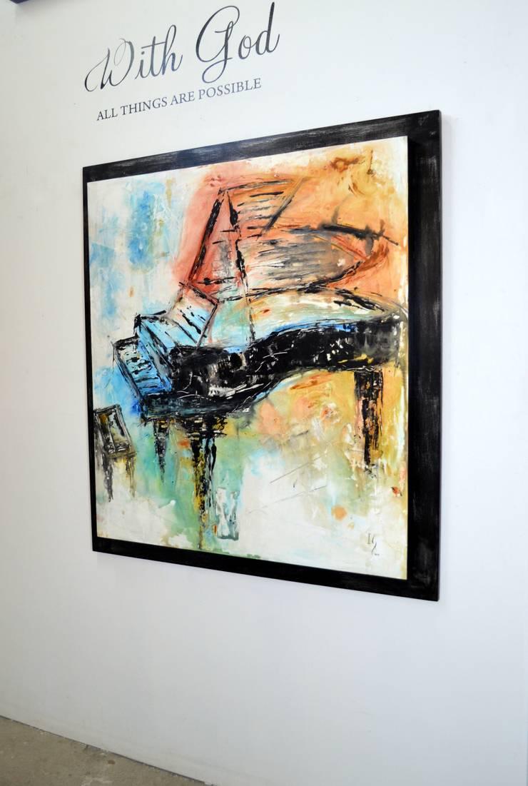 Obras de Música : Arte de estilo  por Galeria Ivan Guaderrama