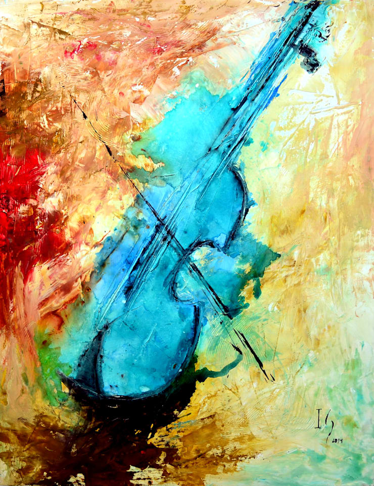 Obras de Música : Recámaras de estilo  por Galeria Ivan Guaderrama