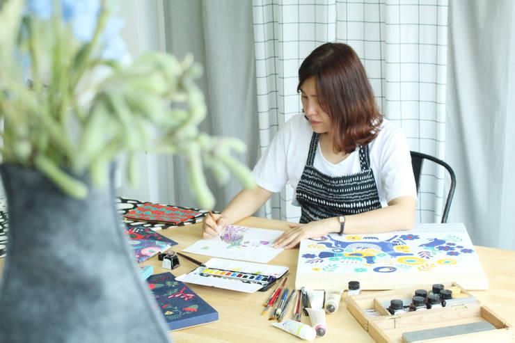 Artist/Illustrator/Designer LUNA: 말랑루나(MallangLuna)의