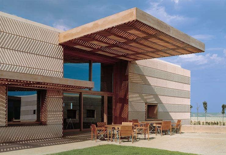 بلكونة أو شرفة تنفيذ Ignacio Quemada Arquitectos