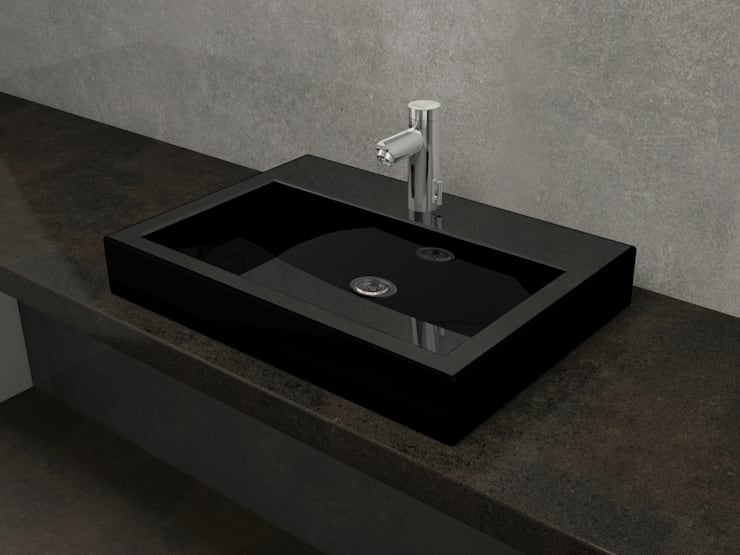 Umywalka naszafkowa – dowolny kolor: styl , w kategorii Łazienka zaprojektowany przez Nowa Droga W Standardach,Nowoczesny Ceramika