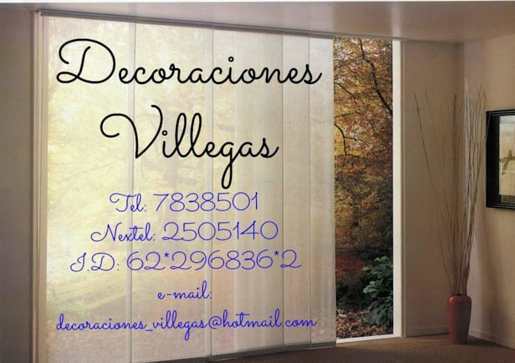 modern  by Decoraciones villegas, Modern