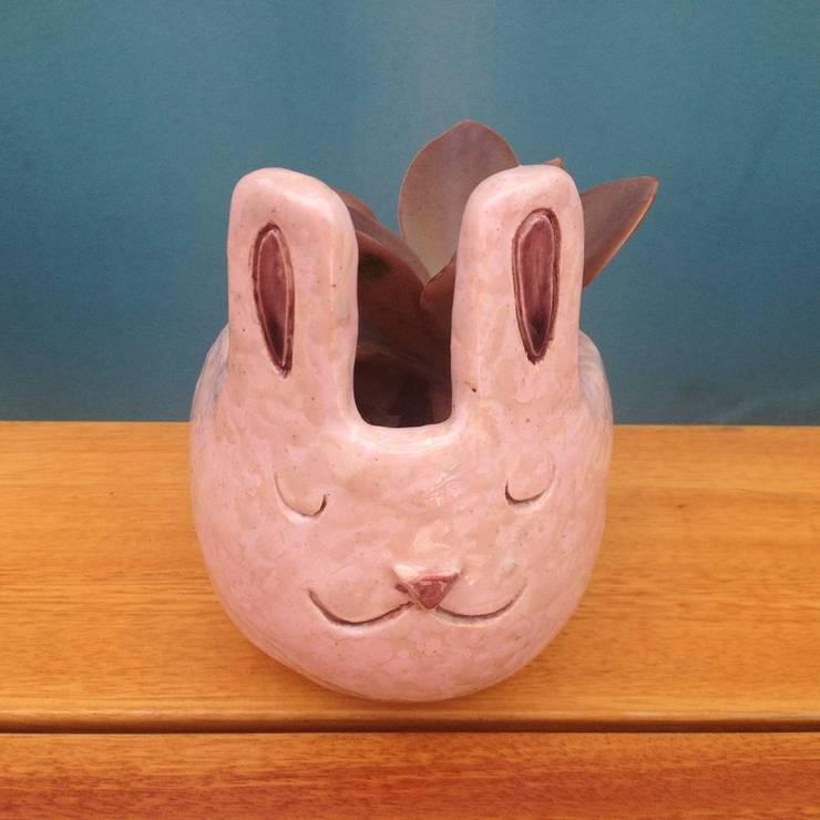 Maceta Conejo:  de estilo  por La comarca,Moderno