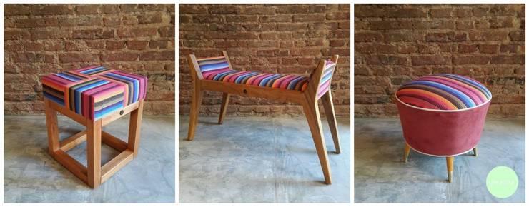 Sillas, taburetes y sillones: Comedores de estilo moderno por michelleimar