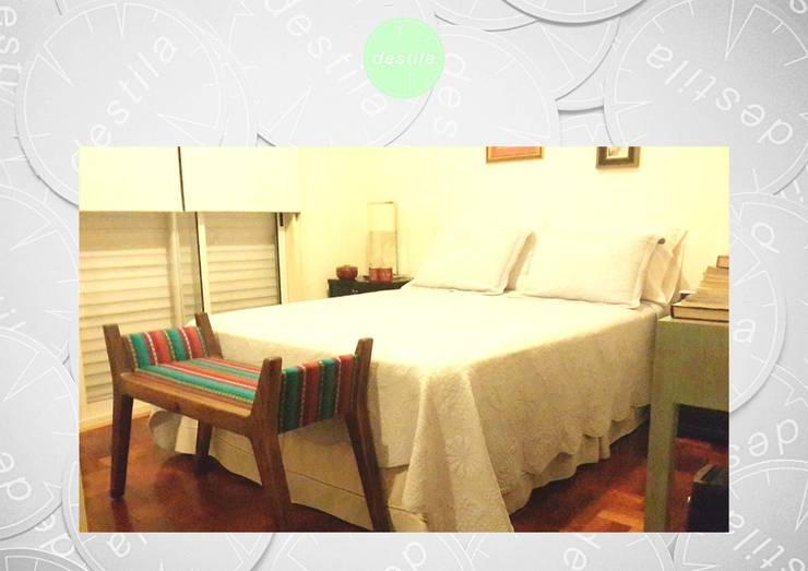 Sillas, taburetes y sillones: Dormitorios de estilo moderno por michelleimar