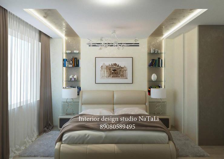 Дизайн интерьера: Спальни в . Автор – Interior design studio NaTaLi ( Студия дизайна интерьера Натали)