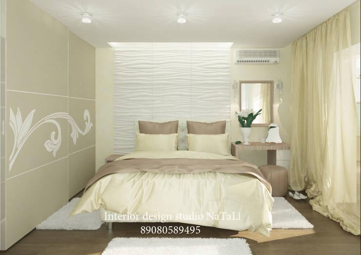 Дизайн интерьера в Челябинске: Спальни в . Автор – Interior design studio NaTaLi ( Студия дизайна интерьера Натали)
