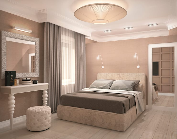 Bedroom by Виталия Бабаева и Дарья Дикая, Classic