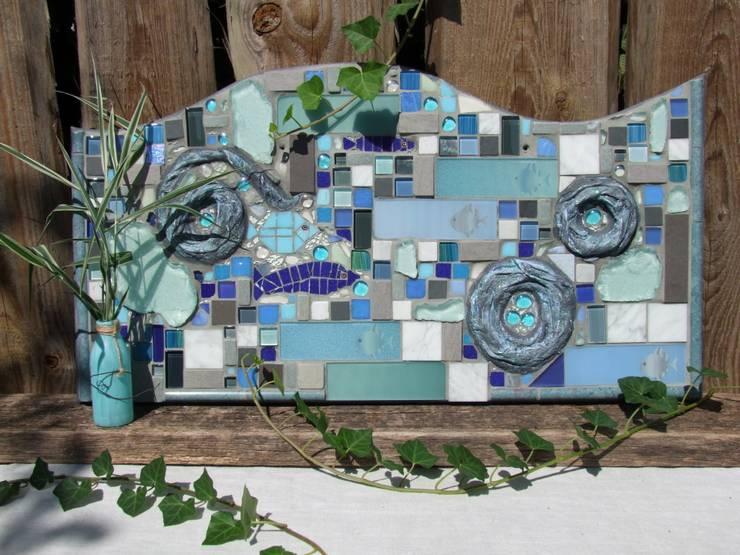 Mosaikbild Wassergedanken: mediterrane Badezimmer von homify