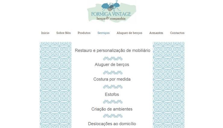 Site: Casa  por Formiga Vintage