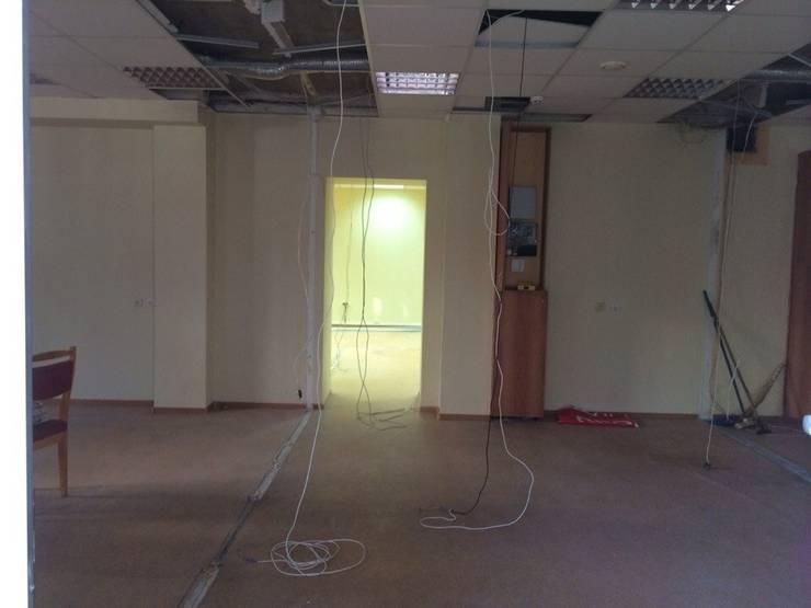 фото помещения до ремонта:  в . Автор – Мастерская Дизайна,