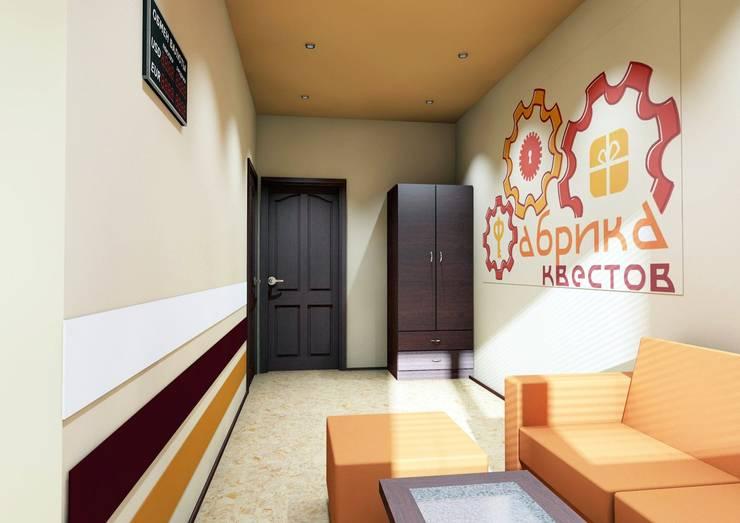 комната ожидания:  в . Автор – Мастерская Дизайна,