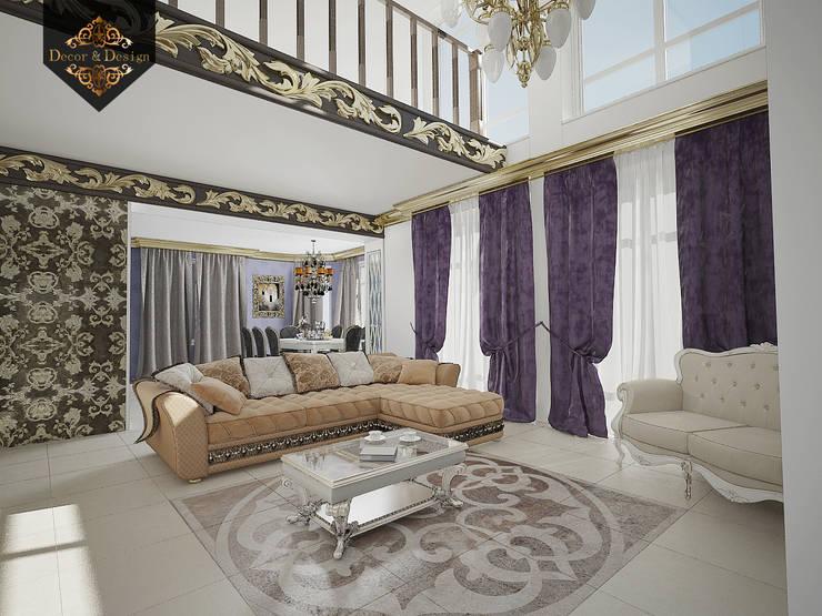 леопард - тренд 2016: Гостиная в . Автор – Decor&Design