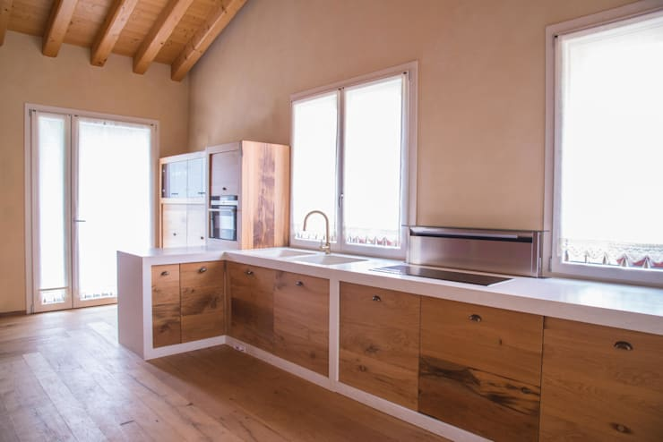 rustic Kitchen by RI-NOVO