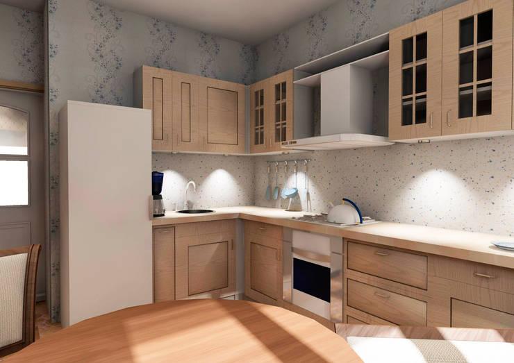 Кухня:  в . Автор – Мастерская Дизайна,