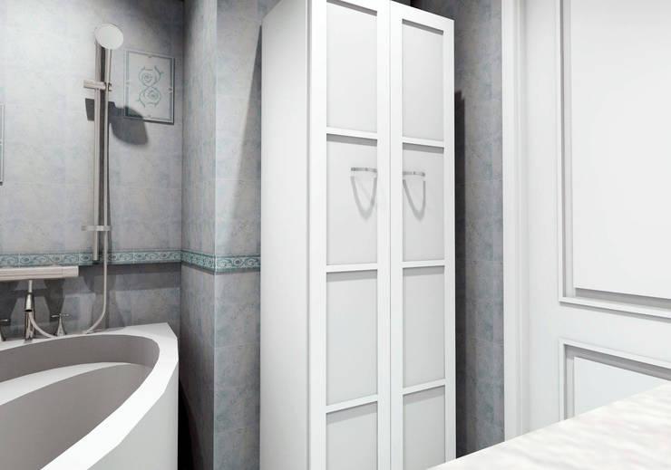 Ванная комната:  в . Автор – Мастерская Дизайна,