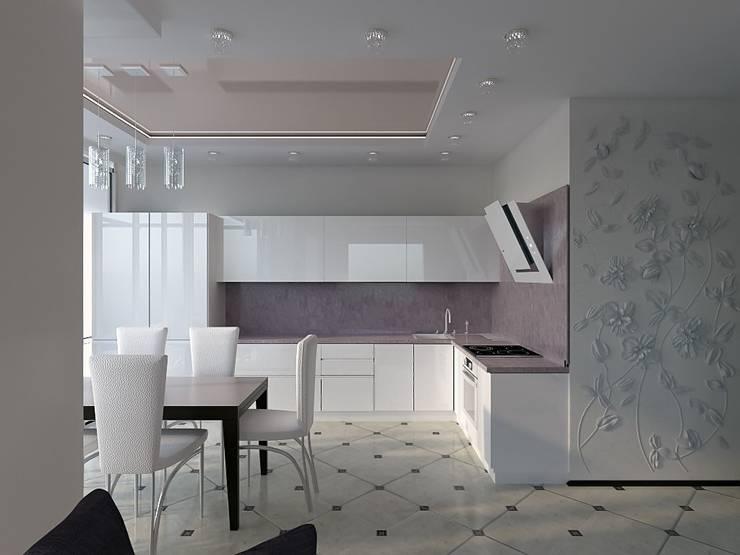 Студия дизайна интерьера Натали: Кухни в . Автор – Interior design studio NaTaLi ( Студия дизайна интерьера Натали)