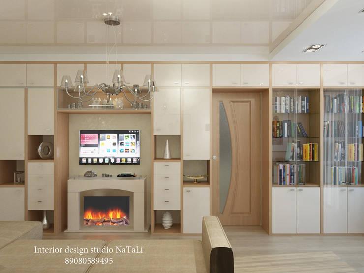 Студия дизайна интерьера Натали: Гостиная в . Автор – Interior design studio NaTaLi ( Студия дизайна интерьера Натали)