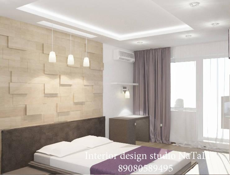 Студия дизайна интерьера Натали: Спальни в . Автор – Interior design studio NaTaLi ( Студия дизайна интерьера Натали)