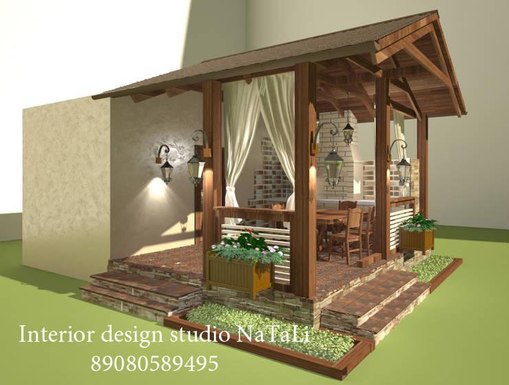 Студия дизайна интерьера Натали: Сады в . Автор – Interior design studio NaTaLi ( Студия дизайна интерьера Натали)
