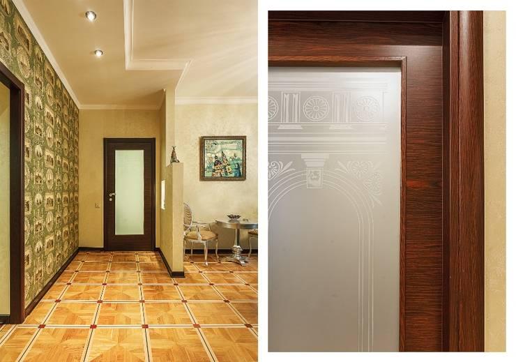 Квартира с архитектурной темой : Коридор и прихожая в . Автор – Ольга Макарова (Экодизайн)