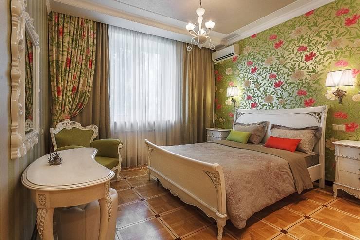 Квартира с архитектурной темой : Спальни в . Автор – Ольга Макарова (Экодизайн)