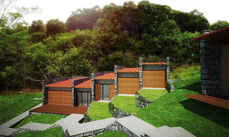 Casa Guaramiranga: Casas  por Rede Arquitetos