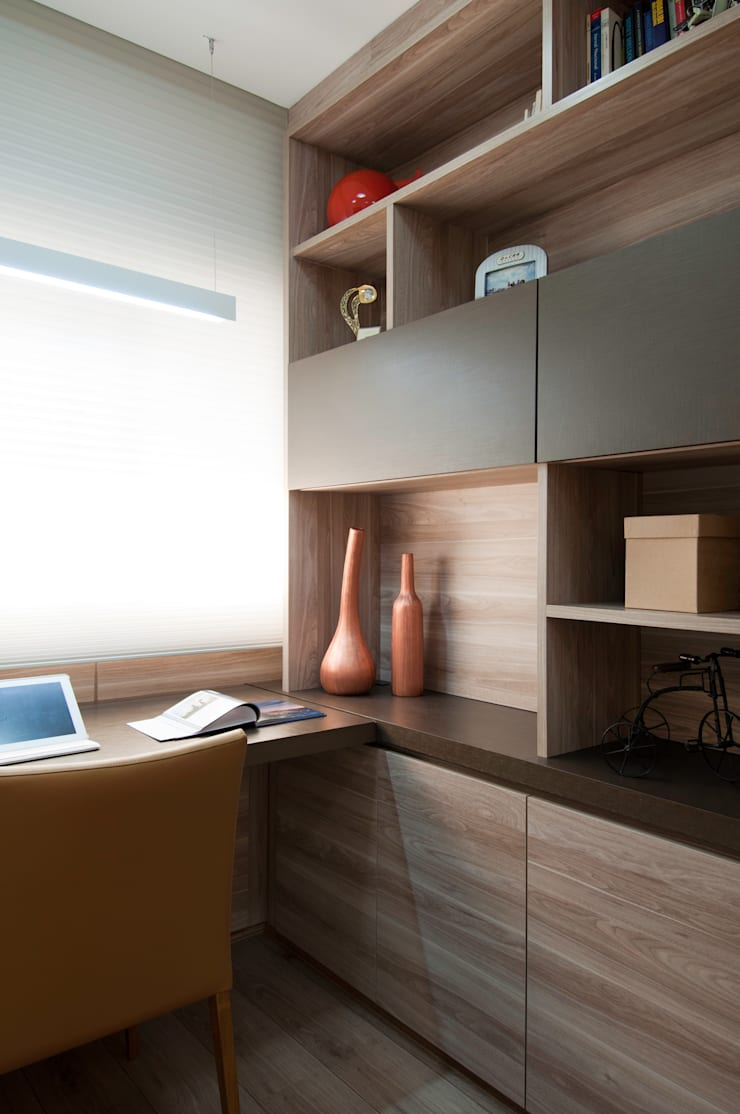 Apartamento Morumbi: Escritórios  por Figoli-Ravecca Arquitetos Associados,