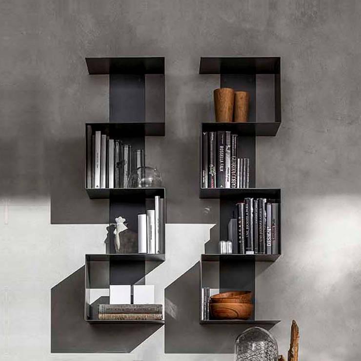 Projekty,  Salon zaprojektowane przez My Italian Living