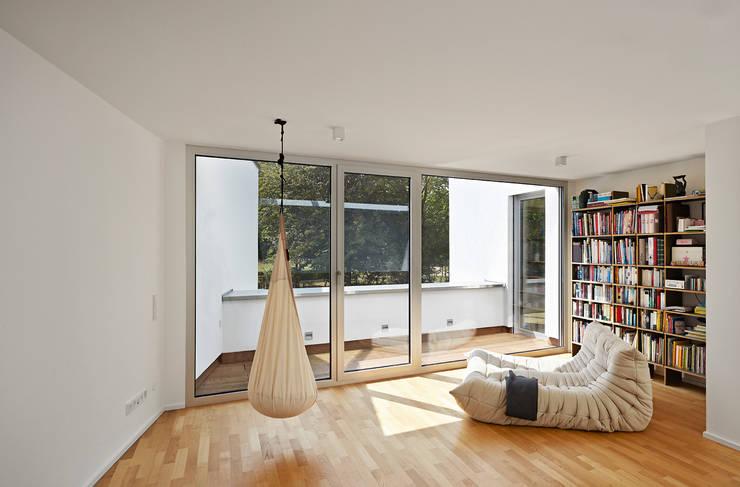 Haus C / Mainz:  Terrasse von Lennart Wiedemuth / Fotografie