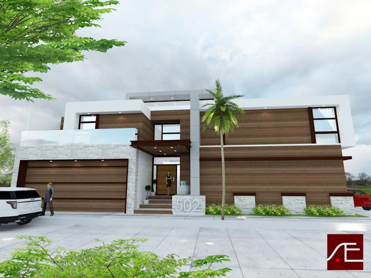 VGO-27: Casas de estilo  por AE Arquitecto