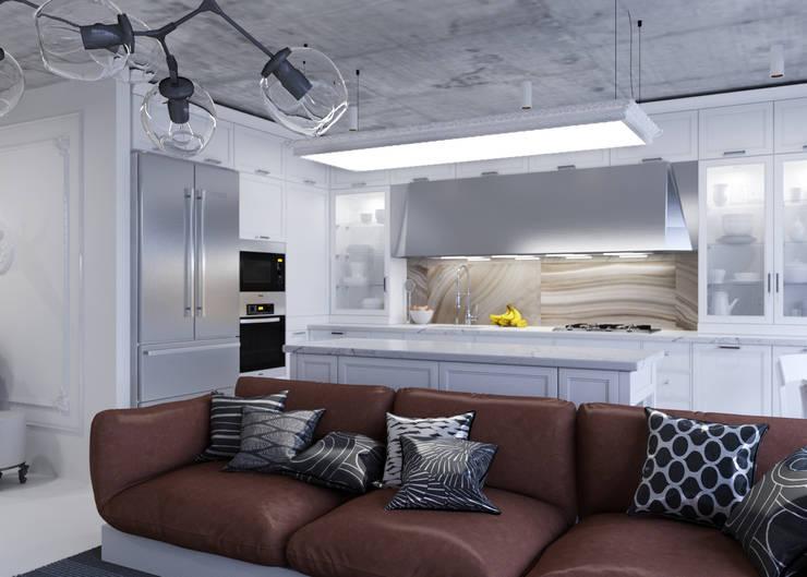 Студия: Кухни в . Автор – 3D GROUP