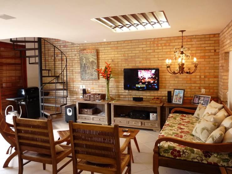 Eveline Sampaio Arquiteta e Designer de Interiores:  tarz Oturma Odası